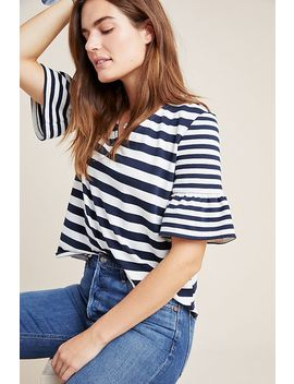 Antonella Striped Top by Sunday In Brooklyn