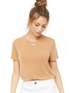 Vented High Low Top by Forever 21