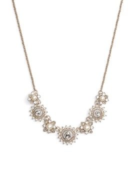 Frontal Necklace by Marchesa