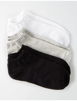 Aeo Basic Ankle Sock 3 Pack by American Eagle Outfitters