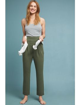 Yardley Beach Terry Pants by Anthropologie