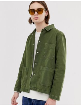 Weekday Generic Jacket In Khaki by Weekday