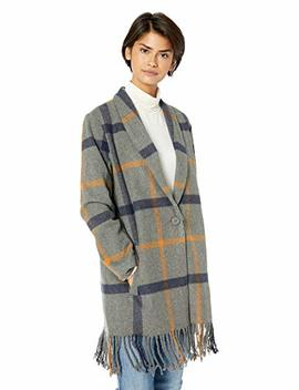 Bb Dakota Women's Elementary Plaid Oversized Coat by Bb Dakota