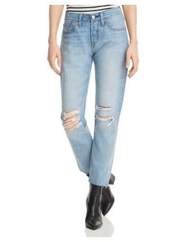 501 Tapered Jeans In Buena Noche by Levi's
