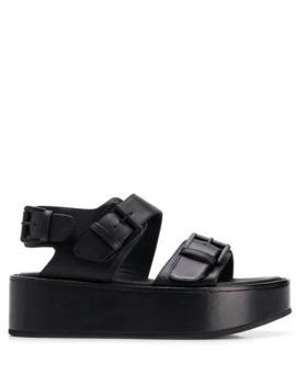 Vacchetta Platform Sandals by Ann Demeulemeester