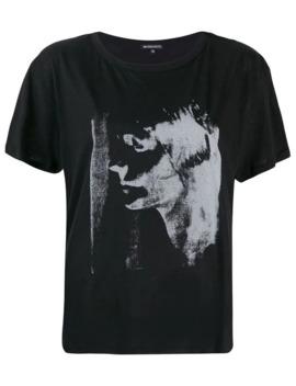Mask Print T Shirt by Ann Demeulemeester