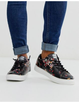 Levi's Lace Up Trainer In Ditsy Floral Print by Levi's