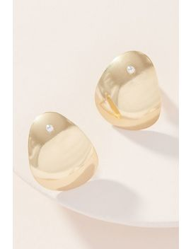 Lila Rice Lee 14 K Gold Post Earrings by Lila Rice