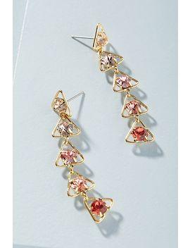Tel Aviv Swarovski Crystal Drop Earrings by Lionette By Noa Sade