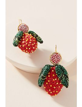 Mignonne Gavigan Strawberry Drop Earrings by Mignonne Gavigan