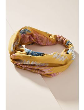 Silk Twist Headband by Anthropologie