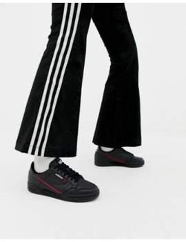 adidas-originals-black-continental-80-sneakers by adidas