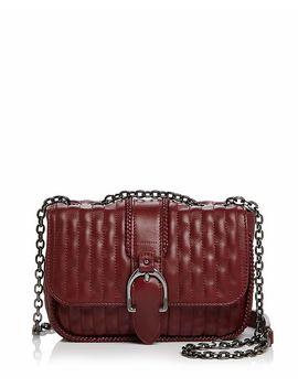 Amazone Matelassé Small Convertible Leather Crossbody by Longchamp