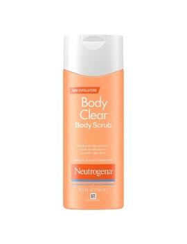 Neutrogena Body Clear Acne Body Scrub With Salicylic Acid   8.5 Fl Oz by 8.5 Fl Oz