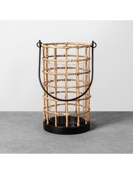 Woven Lantern   Hearth &Amp; Hand With Magnolia by Hearth & Hand With Magnolia
