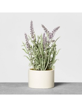 Faux Lavender Potted Plant   Hearth &Amp; Hand With Magnolia by Hearth & Hand With Magnolia