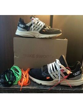 Off White Presto Og (All Laces Included) (Worn) Slight Creasing) 100% Authentic by Off White