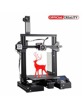Official Creality Ender 3 Pro 3 D Printer With Magnetic Build Surface Plate And Ul Certified Power Supply Metal Diy Printers 220x220x250 Mm by Creality 3 D