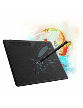 Gaomon S620 6.5 X 4 Inches Pen Tablet 8192 Levels Pressure Graphic Tablet With 4 Express Keys And Battery Free Pen For Drawing & Playing Osu For Windows Mac Android Os by Gaomon