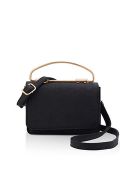 Embossed Crossbody Satchel by Rainbow