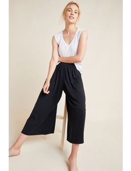 Spencer Smocked Wide Leg Pants by Anthropologie