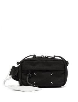 Technical Twill Belt Bag by Maison Margiela