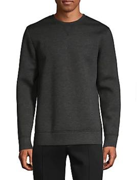 classic-crewneck-sweatshirt by helmut-lang