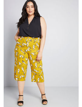 All In Cropped Wide Leg Pants by Modcloth