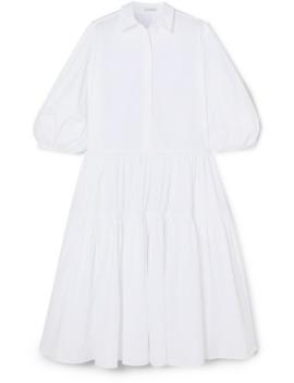 Robe Chemise Oversize En Popeline De Coton Amy by Cecilie Bahnsen