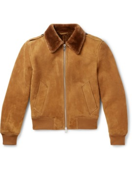 Shearling Aviator Jacket by Ami
