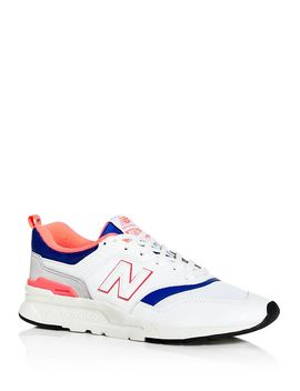 Men's 997 H Leather Low Top Sneakers by New Balance