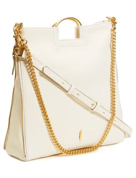 Hannah Leather Tote by Thacker