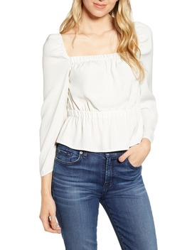 Square Neck Top by 7 For All Mankind®