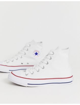Converse   Chuck Taylor   All Star Hi   Witte Sneakers by Converse