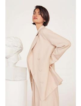 Business As Usual Oversized Double Breasted Blazer by Nasty Gal