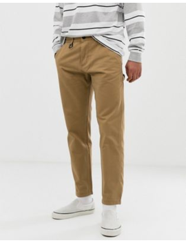 Pull&Amp;Bear Slim Chino In Stone by Pull&Bear
