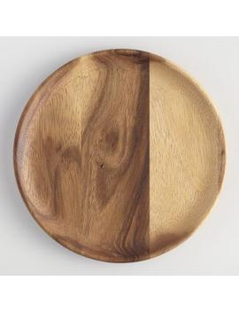 Acacia Wood Plates Set Of 4 by World Market