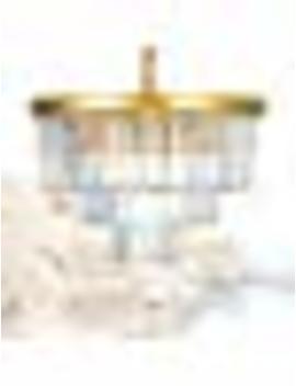 "Meelighting Crystal Gold Modern Chandeliers Lights Vintage Pendant Ceiling Light Traditional Chandelier Lighting Fixture 3 Tier 8 Lights For Dining Room Living Room Kitchen Island Bedroom W20"" by Meelighting"
