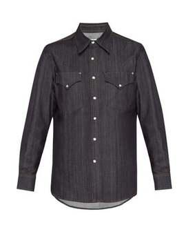Sierra Raw Slim Fitting Denim Shirt by Eytys