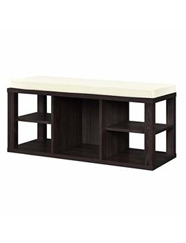 Ameriwood Home Parsons Storage Bench, Espresso by Ameriwood Home