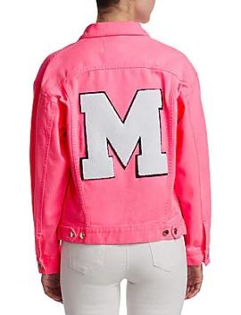 Embellished Denim Jacket by Msgm