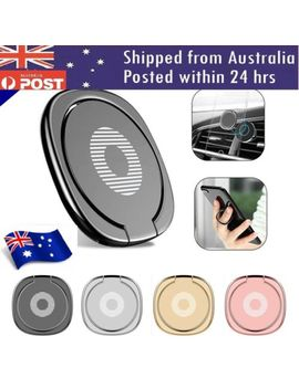I Ring Phone Ring Finger Holder Car Mount Hook I Phone Stand Mobile Grip Gps I Pad by Universal, For Acer, For Alcatel, For Alcatel Lucent, For Apple, For Asus, For Black Berry