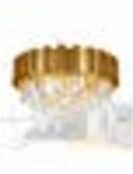 "Meelighting Gold Luxury Modern Crystal Chandelier Lighting Contemporary Raindrop Chandeliers Pendant Ceiling Lights Fixture For Dining Room Living Room Hotel Bedroom W22"" by Meelighting"