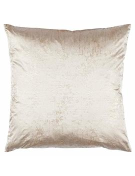 """Rivet Modern Metallic Pillow, Soft And Luxurious, 17"""" X 17"""" , Gold by Rivet"""