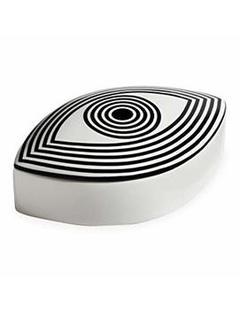 Now House By Jonathan Adler Wink Box, Black And White by Now House By Jonathan Adler