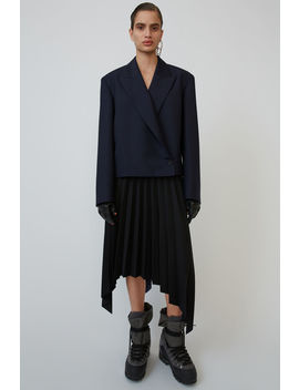 Asymmetrical Skirt Black by Acne Studios