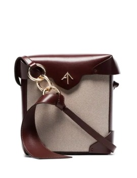 Mini Pristine Combo Shoulder Bag by Manu Atelier