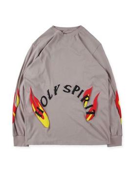 Ins Kanye West Sunday Service Holy Spirit Cpfm Tee Yeezy1 Long Sleeve T Shirt by Unbranded