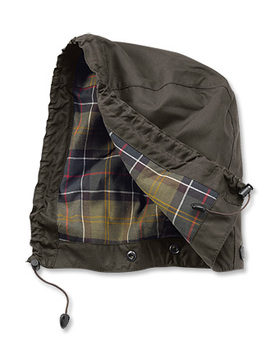 Barbour® Classic Sylkoil Hood by Orvis