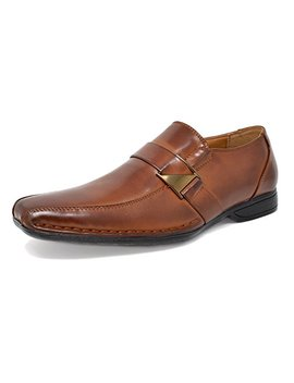 Bruno Marc Men's Giorgio Leather Lined Dress Loafers Shoes by Bruno Marc New York